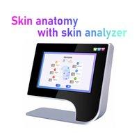 حار بيع الرقمية اختبار الجلد آلة / ce المعتمدة الوجه محلل الجلد المعدات / محلل الجلد الذكية تكشف اختبار