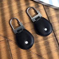 2021 роскошный дизайнерские кольца клавиши высококачественные черные кожаные стальные письма верхний подарок