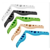 Suporte de máscara de silicone Simples prevenir óculos embaçando a respiração selo de respiração do nariz Bridge Costura Clipe Acessórios 1 2JZ K2