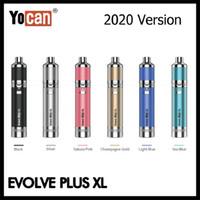 Otantik Yocan Evolve Artı XL Balmumu Kalem 2020 Sürüm 1400 mAh Vape Kalem Marş Seti Silikon Jar QQC ile 100% Orijinal