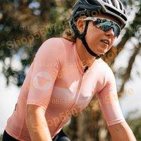 سباق جاكيتات سوداء الأغنام برو الدراجات جيرسي roupas دراجة الملابس قمم الوردي قصيرة الأكمام ارتداء الترياتلون النساء دراجة قميص 1