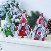 발렌타인 데이 선물 사랑 gnomes 발렌타인 데이 장식 얼굴이없는 인형 크리스마스 장식 창 정렬 3 색 XD24457
