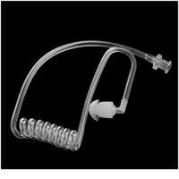Tubo de aire acústico de la bobina transparente Reemplazo del tablón de aire para el auricular de la radio Transpare JLLLGMM