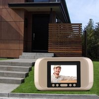 Беспроводной дверной звонок Домоходов Visual Smart Hoolbells Smarts Audio Video Дверной колокольчик Удаленный телефон Домофон ИК набор ночного видения