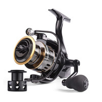 New Fishing Spinning Reel HE500-7000 Max Drag 10kg 5.2:1 High Speed Metal Spool Spinning Saltwater Reel Fishing Carp Reel Send Line