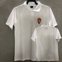1994 1995 Real Zaragoza Retro Classic Jersey 94 95 Casa Pardeza Higuera Camisa de Futebol Vintage