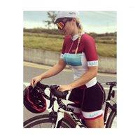 Kaffit 2020 Cyclisme Pro Team Jumpsuit de cyclisme Femme Uniforme Ciclismo Mujer Collants Triathlon Mountain VTT Vêtements1