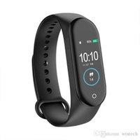 Retail M4 Smart Band Watch avec Fitness Tracker Bracelet Sports Récompense cardiaque Pression artérielle Smartband Monitor Sangle de santé Pour Fitness Tracker