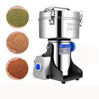 YTK Ultrafine Spice Mill Commercial Sanqi 3500G 4400W Café moedor máquina de moedura Gristmill Home 430 Aço Inoxidável1