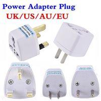고품질 여행 충전기 AC 전기 전원 UK AU EU - US 플러그 어댑터 컨버터 미국 유니버셜 전원 플러그 Adaptador 커넥터