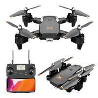 DRONES 2021 S60 PRO DRONO 20min 1000m GPS 5G WIFI 4K HD 와이드 앵글 카메라 1080P FPV 듀얼 쿼드 코터 높이 높이를 유지합니다.