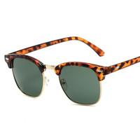 Gafas de sol de las gafas de lujo adumbral de las gafas de lujo adumbral con el marco completo para los hombres de las mujeres del diseñador liso de las gafas de sol anti-azul de cristal ligero con