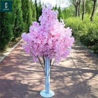 Fausse fleur de fleur de fleur de fleur de cerisier Begonia Sakura Tree Tree 150cm Longue pour événement Partie de mariage Décoratifs artificiels