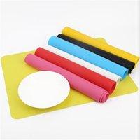 Горячая прямоугольник силиконовый стол термостойкий коврик Cup Coaster Cuushion Placemat Pad