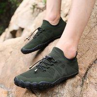 أحذية أكوا الرجال حافي القدمين خمسة أصابع جورب ماء السباحة أحذية تنفس المشي لمسافات طويلة الأحذية الخوض شاطئ في الهواء الطلق المنبع أحذية رياضية T200523