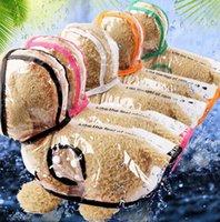 Pet Dog Cachorrinho Transparente Raincoat Raincoat Pet Capuz Impermeável Cães Água Transparente Casaco Roupas Poncho S-XXL KKA8316
