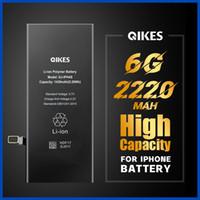 Batería de alta capacidad para iPhone 6 0G Batarya Reemplazo Capacidad real Teléfono móvil Bateria de alta capacidad original