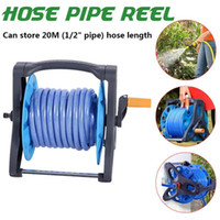 Portable Garden Water Pipe Hose Reel Outdoor Yard Holder Organizer Stable Storage Rack Tool Planting Hosepipe Holder To 20M