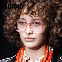 Moda Güneş Gözlüğü Çerçeveleri Zuidid Şeffaf Şeker Renk Gözlük Çerçeve Erkek Kadın Açık Seyahat Sokak P için Çok Yönlü Siyah Oval Gözlük P