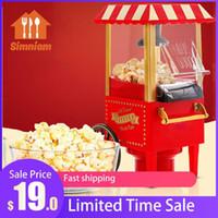 Maker Popcorn 1200W Macchina elettrica Piccolo Mini Mini Automatico Carnevale Cereale per la famiglia FAI DA TE