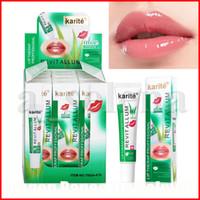 Karite aloès lissage gel lèvre gloss hydratant couleur transparente couleur transparente lipgloss hydratant lèvre plumper plumping 17ml