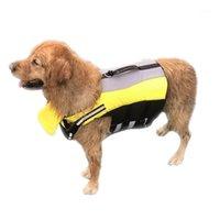 Vêtements de chiens Glorious Kek Life Veste Petit Moyen Grand Vest de flottabilité supérieure pour la baignade Reflective Summer Pet Lifevest1