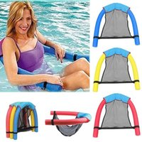 Schwimmbad Floating Stuhl Kind Erwachsene Bettsitz Wasser Float Ring Lightweight Beach Ring Nudel Netto Piscina Poolzubehör1