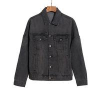 2021 남성용 디자이너 데님 재킷 남성 캐주얼 겨울 코트 브랜드 패션 맨스 재킷 스타일리스트 outwear 옷 탑