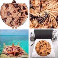 90 cm 150 cm Manta de burrito mexicano Tortilla Mantas del hogar Adulto Niño Cómodo Alimento Tiro Mantas Mojadas Músicas Seashipping LJJP835