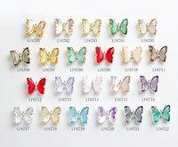 Tamax Nar004 22 Stili 3D colorato farfalla fascino ornamenti nail art rhinestones decorazione pixie fai da te chiodi di cristallo accessori di cristallo