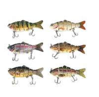Balıkçılık Cazibesi Batan Wobblers Crankbaits Sert Cazibesi Pike Çok Eklemli Swimbait Yapay Yem Balıkçılık Bas Alabalık Balıkçılık Mücadele