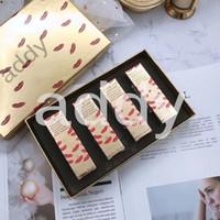 Makeup Brand Makeup набор 4 шт. Классические матовые помады Рождественские подарки набор 4 в 1 с подарками коробка DHL быстрая доставка