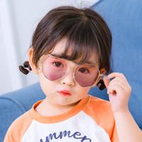 Neue Kinder Persönlichkeit Kette Kinder Sonnenbrille Kinder Unregelmäßige Rahmen Sonnenbrille Jungen Mädchen Sun Brillen Dekorative Gläser C6698