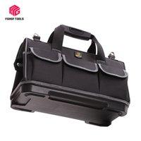 سعة كبيرة أداة حقيبة الأجهزة المنظم حزام كروسبودي الرجال حقائب السفر حقيبة يد سبانر كهربائي نجار أدوات LJ201119