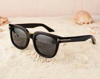 Top Qualtiy Neue Mode 211 Tom Sonnenbrille Für Mann Frau Erika Eyewear Ford Designer Marke Herren und Womens Sonnenbrille Kostenloser Versand 0711