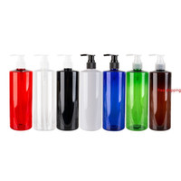 500 мл Пустые пластиковые косметические бутылки с лосьонным насосом, используемым для душевой гель шампунь жидкое мыло для тела домашнее животное путешествие контейнеры