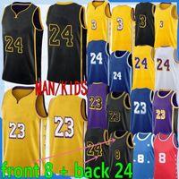 Lebron23JamesNCAA Baskethant Jersey Anthony 0 Kuzma 3 Davis Alex Dwight Caruso Rajon Howard Rondo LosAngelesLakersAndré Crowder iguodala shirts