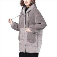 Giacca invernale Cappotto Donna Harajuku Imitazione Agnello Capelli Befree Veste Manteau Femme Hiver Streetwear Vestiti alla moda