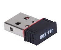 150Mbps IEEE 802.11N G B USB WIFI Adaptador sem fio Mini Adaptadores Adaptadores Chipset MT7601 Cartão de Rede