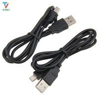1M USB Type A a Mini USB Data Sync Cable 5 Pin B Maschio a Maschio Carica Cavo di ricarica per fotocamera MP3 MP4 Nuovo 500pcs