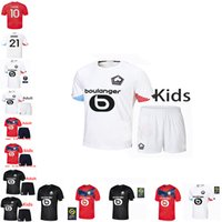 LOSC Lille Football Jersey 2021 Yazici Mian Elik Bamba Botman 20 21 Lille Olympique Adulto Terno + Crianças Jikone RSANÇAS Maillot de Footba