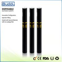 IBUDDY BUD DS80 Sigarette monouso Sigarette Kit di avviamento 170mAh Batteria vuota 2,0 ml Cartridge Vaporize E Sigaretta Budtank Vape Pen 100%