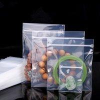 10pcs ppe bijoux auto scellant plastique emballage sac anti-oxydation perles boucles d'oreilles scellés épaissir ziplock transparent