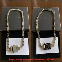 2020 Alys Cubix Zincir Kolye Erkek Kadın Klasik 1017 Alys 9SM Kolye İmza Metal Toka Paslanmaz Çelik Colorfast