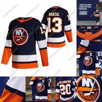 2020-21 Retro Retro Anders Lee Jersey New York Islanders Josh Bailey Mathew Barzal Devon Toews Thomas Greiss Brock Nelson Beauvillier