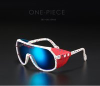Pit Viper One peça óculos de sol homens esportes removíveis escudo sol óculos unisex equipado com ansi z87 + uv400 lente grand-prix