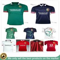 Top Novo 2021 Britânicos Lions Irlandês Jersey 20 21 Lions Britânicos Rugby Home Training Camisa Tamanho S-3XL