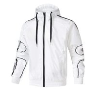 2020 Moda Marca Chaqueta para Sudadera para hombre con letras Primavera Luz-peso Casual Sportswear Abrigos Ropa 2 Colores S-2XL Opcional