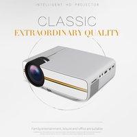 Sıcak YG400 Mini Taşınabilir LED Projektör 1000Lümen 800 * 480 DPI LCD Homeater Projektör Destek 1080 P Proyector HDM VGA USB Projektör