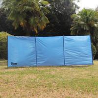 Wildsrof Stufa all'aperto Pianta parabrezza, ignifugo ignifugo Antivento Canvas Pensione leggera per barbecue Camping Stufa Escursionismo Pic